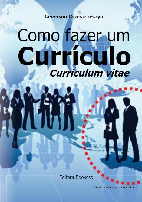 Capa do livro Como fazer um Currículo: Curriculum Vitae