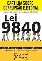 Cartilha sobre corrupção eleitoral