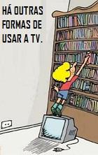 Imagem: há outras formas de usar a tv